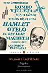 Tragedias par William Shakespeare