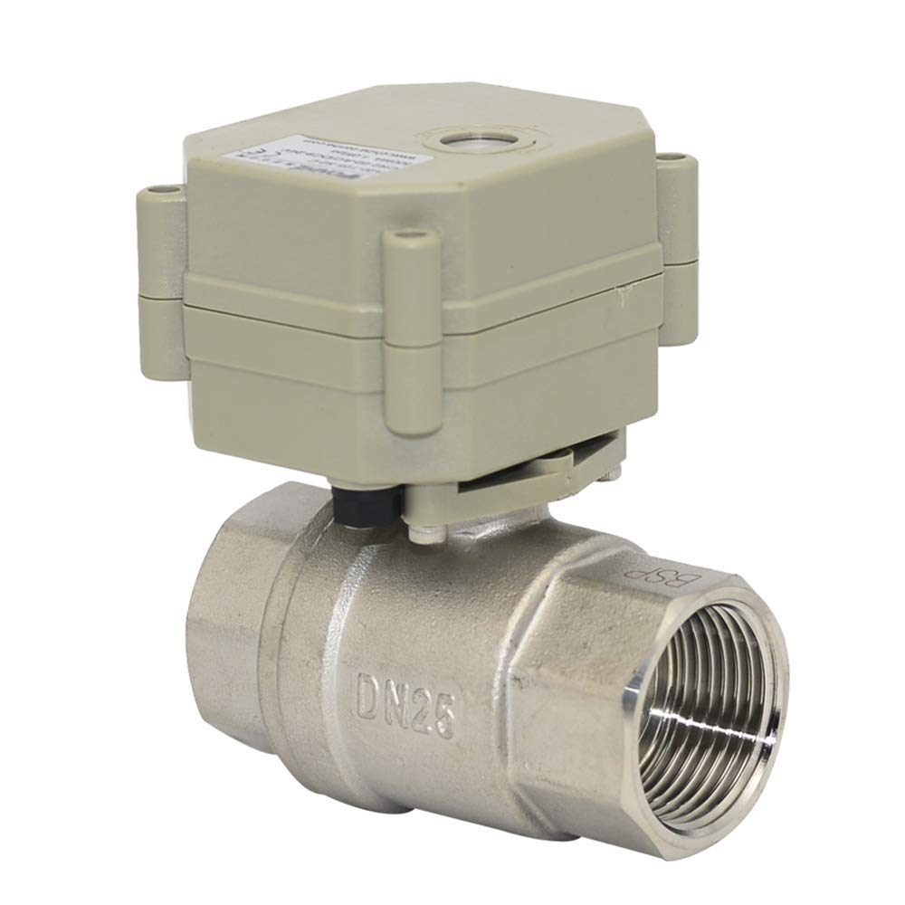 Two Way Staninless Steel 1 Inch,DN25 DC12V Motorized Ball Valve,with Position Indicator,Two-Wires Control