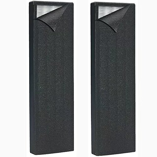 for GermGuardian Air Purifier Filter AC4825 True HEPA Filter B for Germ Guardian AC4300 AC4800 AC4820 AC4900 Filter for GermGuardian FLT4825 Air Purifier Accessories 2 Pack