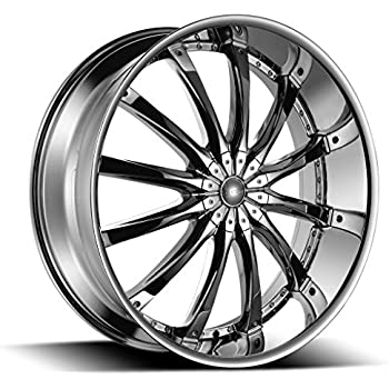 amazon 26 inch dcenti dw8 chrome wheels tire package set 55 Chevy Gasser 26 inch dcenti dw8 chrome wheels tire package set of 4 295