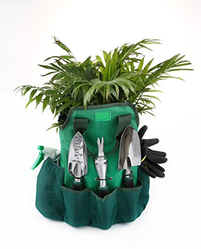 Gardening-Tools-Set13-Piece-Garden-Kit-Includes-6-Hand-Tools-Garden-Storage-Tote-Sprayer-BottleGarden-Gloves-Seeds-BagPlant-LabelsGarden-Tie-and-Calendar-By-Ayuboom