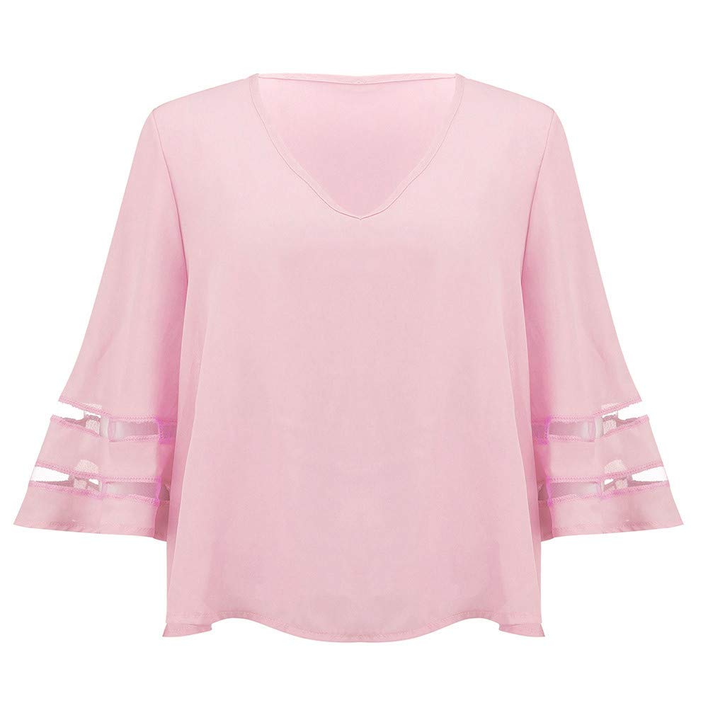 Amazon.com: Hots!!! Teresamoon Women O Neck Tops Short Sleeve Sweatshirt Pullover Blouse T Shirt Tee: Home Audio & Theater