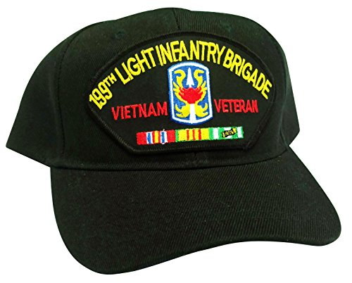 (HMC US Army 199th Light Infantry Brigade Vietnam Veteran w/Service Ribbons Low Profile Adjustable Ball Cap)