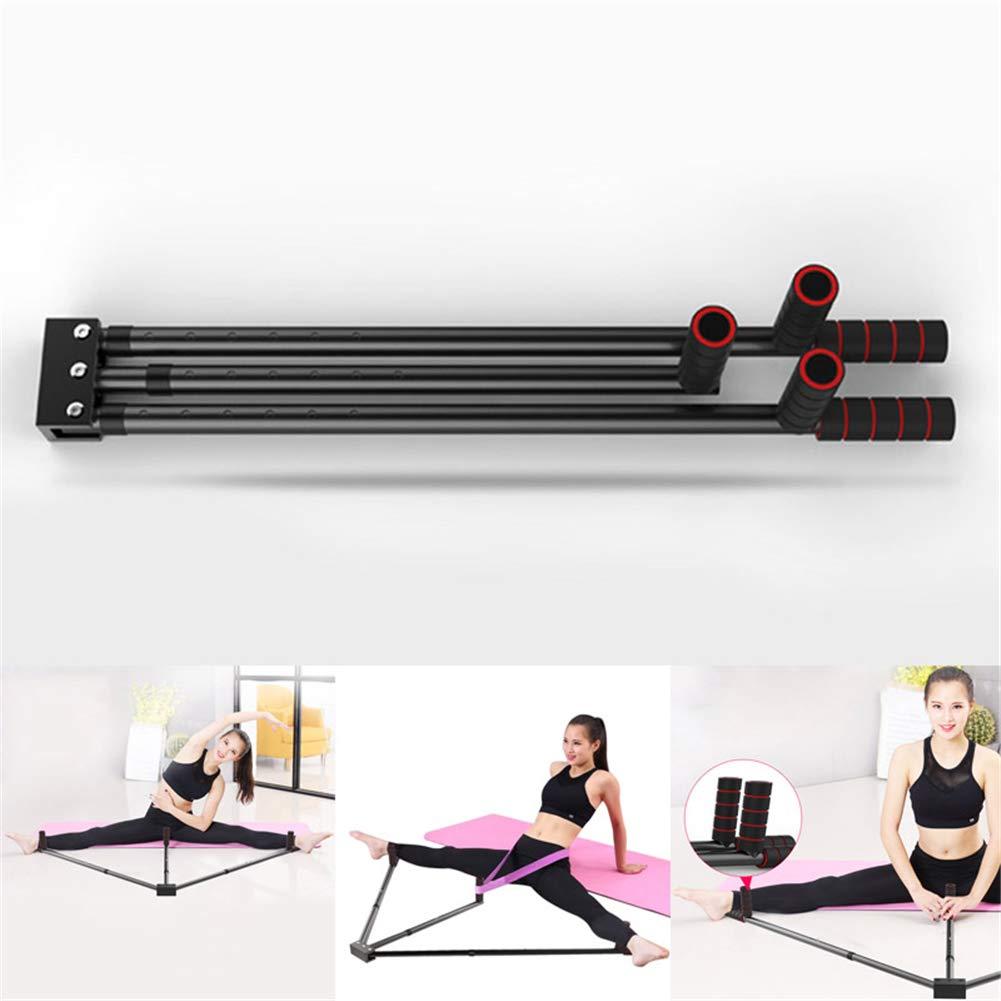 Flykee Iron Leg Stretcher 3 Bar Legs Extension Split Machine Flexibility Training Tool for Ballet Balance