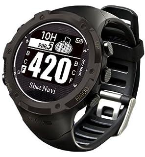 7a7a5a2281 Amazon   ショットナビ ゴルフウォッチ GPSナビ ゴルフナビ 腕時計型 ...