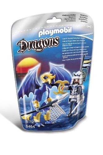 Playmobil-Dragones-Dragn-Hielo-con-guerrero-5464