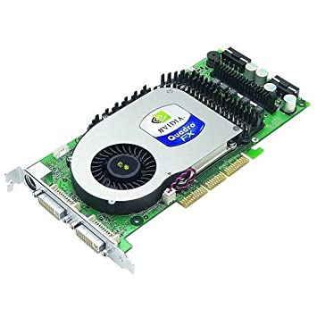 Nvidia Quadro FX 4000 CAD tarjeta gráfica con 256 MB AGP ...
