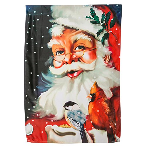 Gifted Living 17S121 Santa's Little Friends Estate Flag - Estate Santa