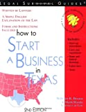 img - for How to Start a Business in Texas ~ Forms and Instructions Included (Legal Survival Guides) book / textbook / text book