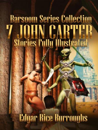 Amazon Barsoom Series Collection 7 Stories Of John Carter
