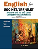 English for UGC-NET/JRF/SLET: (Paper II and III) and Other Competitive Examinations