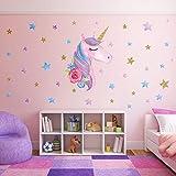 SONG'S IDEA Large Size Unicorn Wall