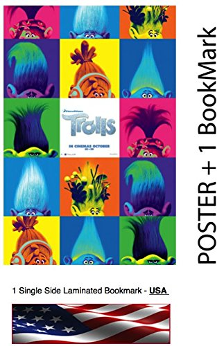 Trolls Cast of Characters Poster
