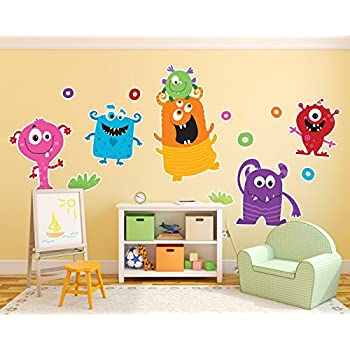 Aliens And Monsters Room Decor   Giant Wall Decals