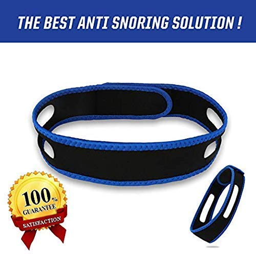 - HJSNORE Anti Snoring Devices Chin Strap - Snoring Solution to Help Good Sleep - Adjustable Snore Reduction Straps -Natural Stop Snoring Devices for Men and Women