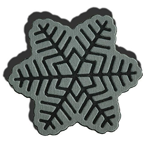 Toejamr Stomp Pad - Snowflake - Gray (Canada Stomp Pad)