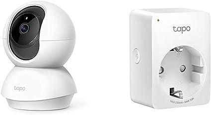 Image of TP-Link - Cámara IP WiFi y Webcam admite Tarjeta SD + WiFi Enchufe Inteligente