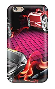 XU49RN24PRVL6B7O New Arrival Iphone 6 Case Drawn S Cars And A Girl Case Cover