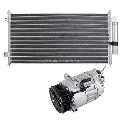AC Compressor w/A/C Condenser & Drier For Nissan Sentra 2.0L 2007-2012 - BuyAutoParts 60-86900R3 New