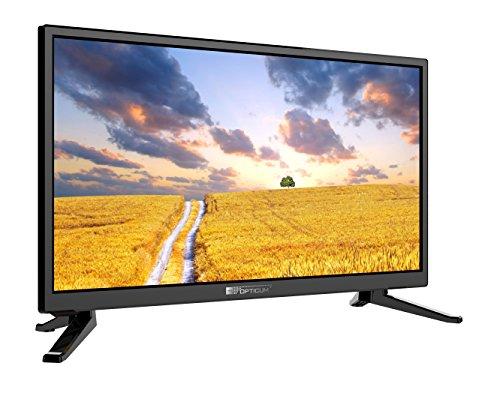 Opticum LCD TV (12V, DVB-S2, DVB-T2, H.265, DVB-C) 24 inch 24″ Travel, zwart