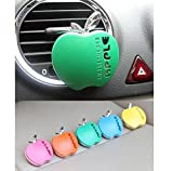 Drhob 2PCS Cute Apple Car Perfume(Random Color)