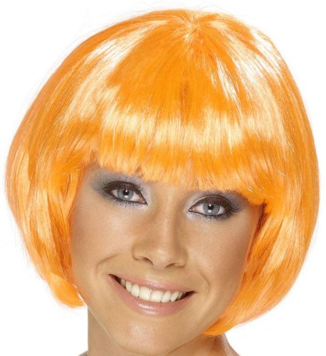 Smiffy's Womens Short Orange BabeBob -