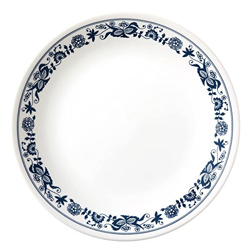 Corelle Old Town Blue Rimmed Soup Salad Bowls - Set of 6