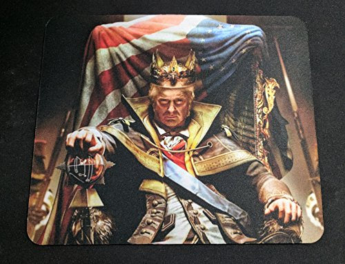 Humor Emperor Overlord Trump Mouse Pad