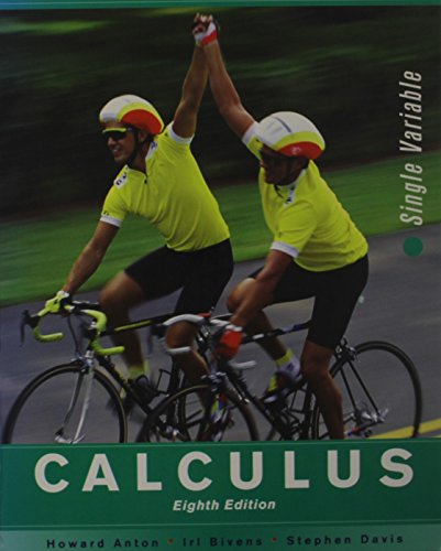 Calculus Late Transcendentals Single Variable Eighth Edition with JustAsk