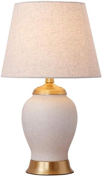 Dormitorio, mesa de noche, jardín, cerámica, lámpara de mesa ...