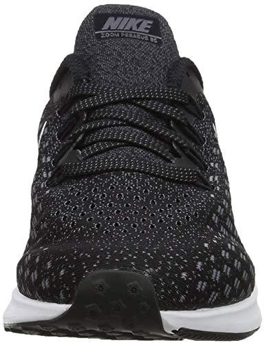 Nike Men's Air Zoom Pegasus 35 Running Shoe (6 M US, Black/White/Gunsmoke/Oil Grey) by Nike (Image #2)