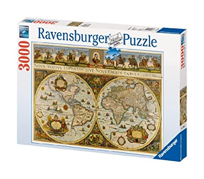 Ravensburger World Map 1665 - 3000 Piece Puzzle from Ravensburger