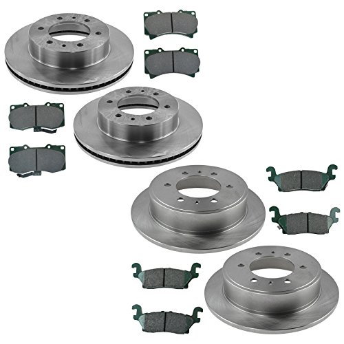 - Front & Rear Posi Ceramic Brake Pad & Rotor Kit for Hummer Truck SUV
