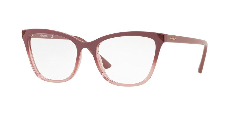 Eyeglasses Vogue VO 5206 2554 TRANSP PINK GRAD ANTIQUE