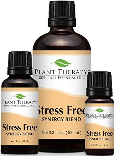 Plant Therapy Worry Free Synergy Essential Oil 100% Pure, Undiluted, Therapeutic Grade