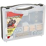Milescraft 1309 DowelJigKit - Kit completo de tacos con clavijas y puntas