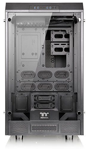 Thermaltake Tower 900 Black Edition Tempered Glass Fully Modular E-ATX Vertical Super Tower Computer Chassis CA-1H1-00F1WN-00 by Thermaltake (Image #2)