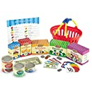 Learning Resources Smart Market Pretend Grocery Game, 90 Pieces