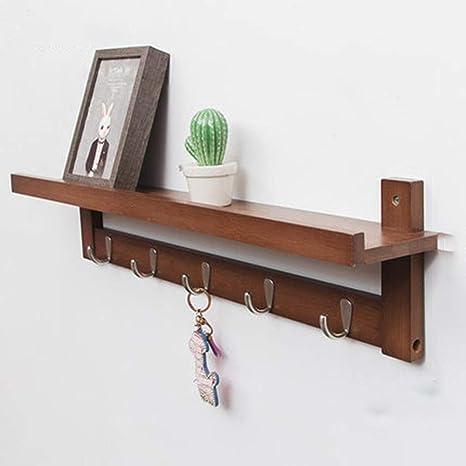 Trastero Oficina Cocina Percha de madera maciza de alto ...