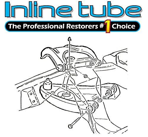 Amazon Com Inline Tube C 7 10 Upper Control Arm Cross Shaft End