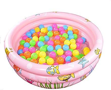 LybCvad Piscina Hinchable para niños, bañera de baño, Infantil, Globo Marino 10 cm Rosa: Amazon.es: Hogar