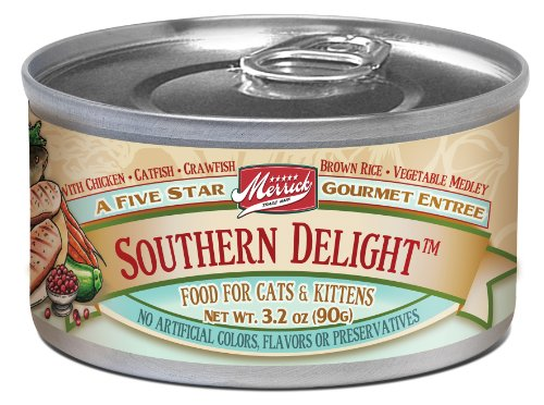 Merrick Southern Delight Cat Food 3.2 oz (24 Count Case), My Pet Supplies