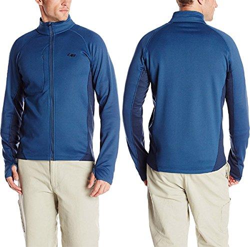Outdoor Research Men's Radiant Hybrid Jacket, Dusk/Night, Large
