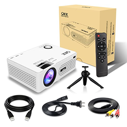 Mini 1080p Full Hd Led Projector Home Theater Cinema 3d: » QKK 2400Lux Mini Projector -Full HD LED Projector 1080P