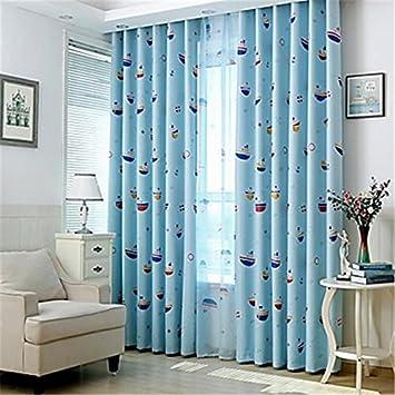 A-Curtain Deux Panneaux Modèle de Dessin animé d\'europe ...