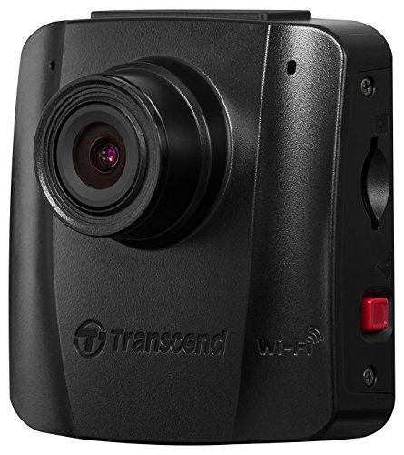 Transcend DrivePro 50 130° Car Video Recorder Dash Cam Full HD,  Built-In Wi-Fi, 16GB MicroSD (Transcend Wifi Sd Card 16gb)