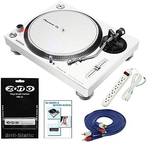 【6大特典】Pioneer DJ パイオニア/PLX-500-W/Zomoレコードクリーナーセット