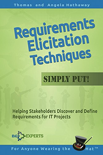 requirements elicitation techniques simply put helping stakeholders discover and define requirements for it