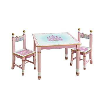 Amazon.com: Guidecraft Princess Table and Chairs Set G86302: Baby