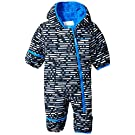 Columbia Baby Boys' Frosty Freeze Bunting, Black Print, 3-6 Months